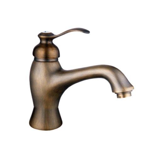 LightInTheBox Centerset Antique Brass Bathroom Sink Faucet Brass Bathroom F